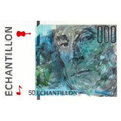 Ravel - Format 50 francs ST-EXUPERY - DIS-05-A-01 - Etat : NEUF
