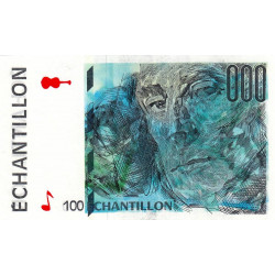Ravel - Format 100 francs CEZANNE - DIS-05-A-02 - Etat : TTB
