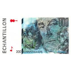 Ravel - Format 200 francs EIFFEL - DIS-05-A-03 - Etat : NEUF