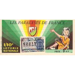 1962 - 1/10ème - Les Paralysés de France