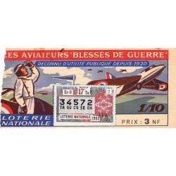 1962 - 1/10ème - Aviateurs blessés de guerre