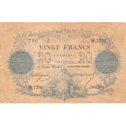 France - Fayette A46-04 - 1873 - 20 francs type 1871