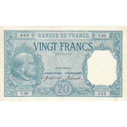 France - Fay-11-01 - 1916 - 20 francs Bayard