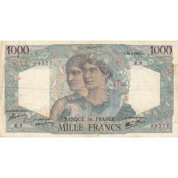 F 41-02 - 26/04/1945 - 1000 francs - Minerve et Hercule - Etat : TB+