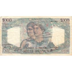 F 41-02 - 26/04/1945 - 1000 francs - Minerve et Hercule - Etat : TB