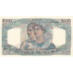 F 41-03 - 31/05/1945 - 1000 francs - Minerve et Hercule - Etat : SPL-