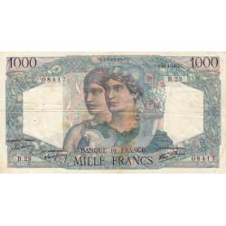 F 41-03 - 31/05/1945 - 1000 francs - Minerve et Hercule - Etat : TTB-