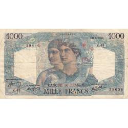 F 41-04 - 14/06/1945 - 1000 francs - Minerve et Hercule - Etat : TB