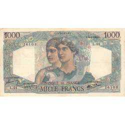 F 41-04 - 14/06/1945 - 1000 francs - Minerve et Hercule - Etat : TTB