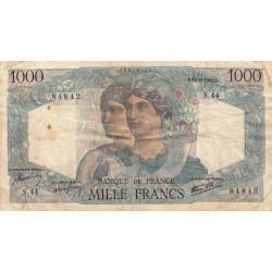 F 41-04 - 14/06/1945 - 1000 francs - Minerve et Hercule - Etat : TB-