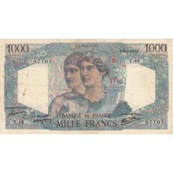 F 41-04 - 14/06/1945 - 1000 francs - Minerve et Hercule - Etat : TB+