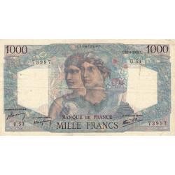 F 41-05 - 28/06/1945 - 1000 francs - Minerve et Hercule - Etat : TB+