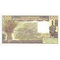 Bénin - Pick 206Bc-1 - 500 francs - 1981 - Etat : pr.NEUF