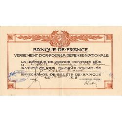 Haute-Loire - Versement d'or pour la Défense Nationale - 1916