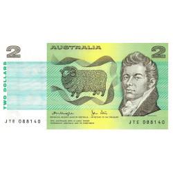 Australie - Pick 43c - 2 dollars - 1979 - Etat : NEUF