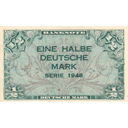 Allemagne RFA - Pick 1a - 1/2 deutsche mark