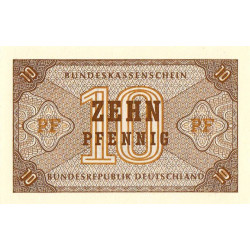Allemagne RFA - Pick 26 - 10 pfenning - Etat : NEUF