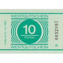 Allemagne RDA - Bon des prisons - 10 pfennig - Etat : NEUF