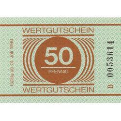 Allemagne RDA - Bon des prisons - 50 pfennig - Etat : NEUF