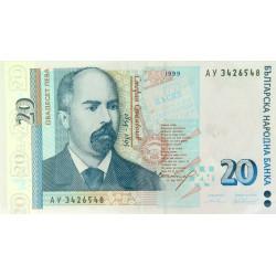 Bulgarie - Pick 118a - 20 leva - 1999 - Etat : SUP