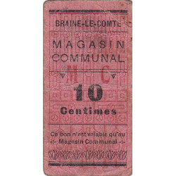 Belgique - Braine-le-Comte - Nécessité BR78 - 25 centimes