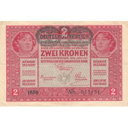 Autriche - Pick 50 - 2 kronen - 1919 - Etat : TB+