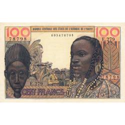 Etats Afrique Ouest - Pick 2b - 100 francs - Etat : SUP+