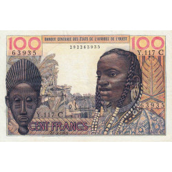 Burkina-Faso - Pick 301Ca - 100 francs - 1961