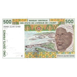 Burkina-Faso - Pick 310Cj - 500 francs - 1999 - Etat : NEUF