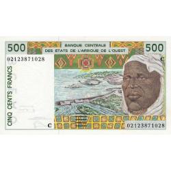 Burkina-Faso - Pick 310Cm - 500 francs - 2002 - Etat : SPL