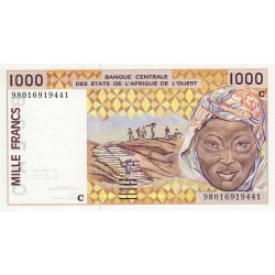Burkina-Faso - Pick 311Ci - 1'000 francs - 1998