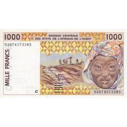 Burkina-Faso - Pick 311Cm - 1'000 francs - 2002 - Etat : SUP