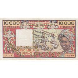 Burkina-Faso - Pick 309Ch - 10'000 francs - 1991 - Etat : TB+