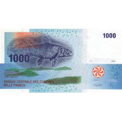 Comores - Pick 16 - 1'000 francs