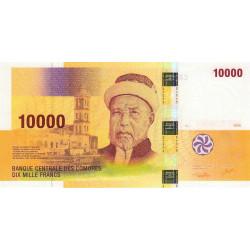 Comores - Pick 19 - 10'000 francs