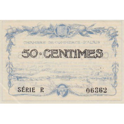 Alais (Alès) - Pirot 4-1 - 50 centimes - Etat : SPL