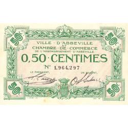 Abbeville - Pirot 1-13 - 50 centimes - Etat : SUP