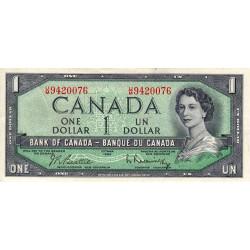 Canada - Pick 75b - 1 dollar - 1961 - Etat : TTB