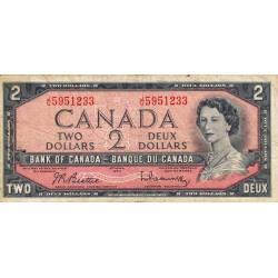 Canada - Pick 76b - 2 dollars - 1961 - Etat : TB