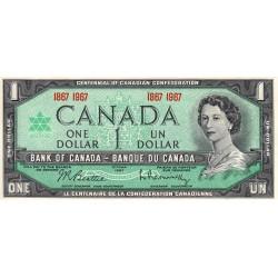 Canada - Pick 84a - 1 dollar - 1967 - Commémoratif - Etat : NEUF