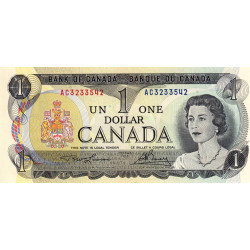 Canada - Pick 85a_1 - 1 dollar - 1973 - Etat : NEUF