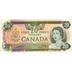 Canada - Pick 93c - 20 dollars - Etat : TTB