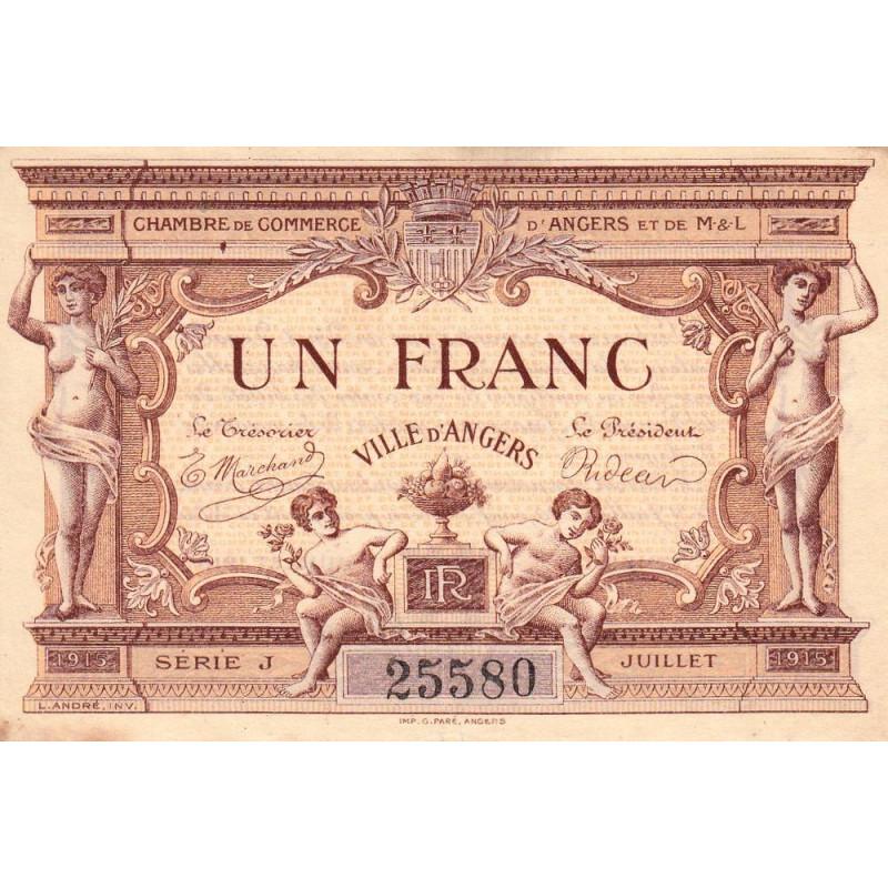 Angers (Maine-et-Loire) - Pirot 008-06b - 1 franc