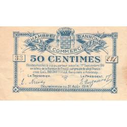 Annonay - Pirot 11-7 - 50 centimes - Etat : TTB
