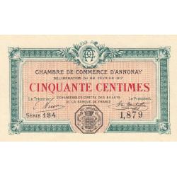 Annonay - Pirot 11-15 - 50 centimes - Etat : NEUF