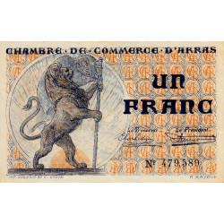 Arras - Pirot 13-5 - 1 franc - Etat : SUP+