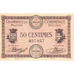 Macon / Bourg - Pirot 78-1 - 50 centimes - Etat : SUP