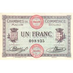 Macon / Bourg - Pirot 78-3 - 1 franc - Etat : SUP+