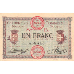 Macon / Bourg - Pirot 78-6 - 1 franc - Etat : SUP