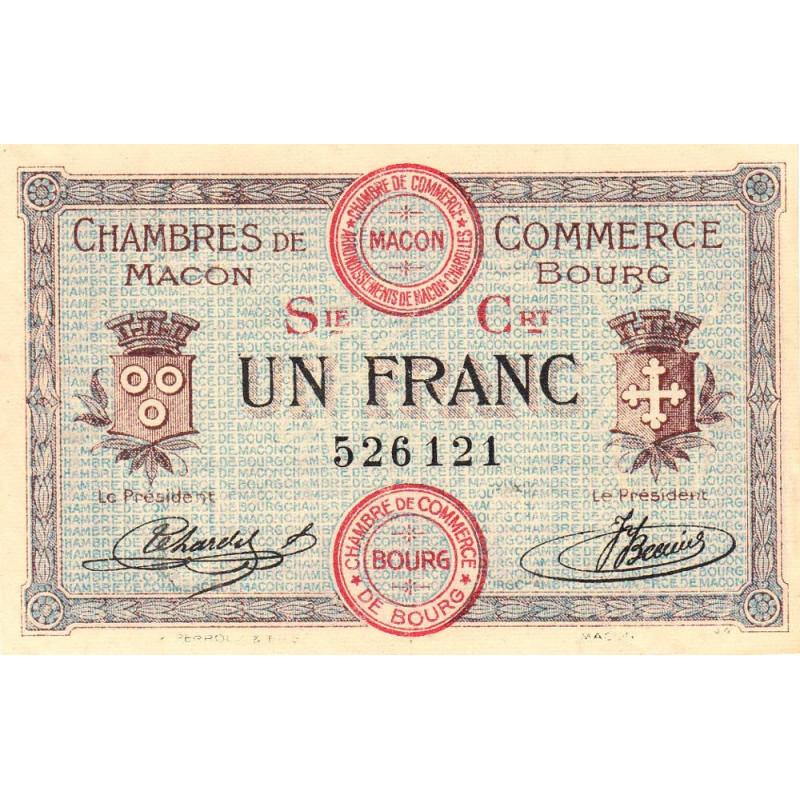 Macon / Bourg - Pirot 78-8 - 1 franc - Etat : NEUF